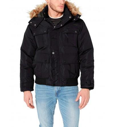Rocawear Mens Bomber Parka Jacket