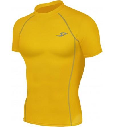 Yellow Tights Compression Layer Sleeve