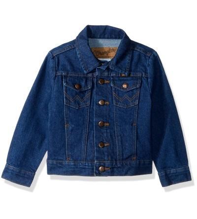 Wrangler Boys Western Denim Jacket