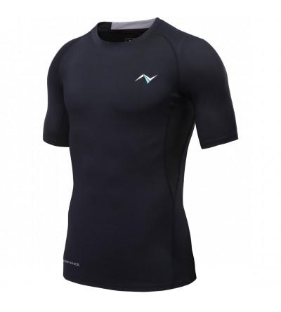 Nooz Stretch Compression Sleeve T Shirt