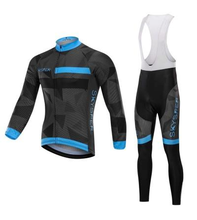 SKYSPER Cycling Jersey Bicycle Breathable