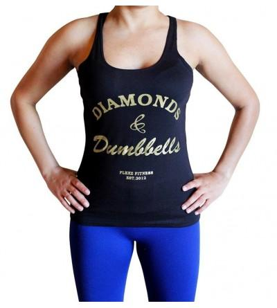 Flexz Fitness Diamonds Dumbbells Tank