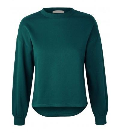 makeitmint Womens Oversized Sweatshirt YIL0020 TEAL SML