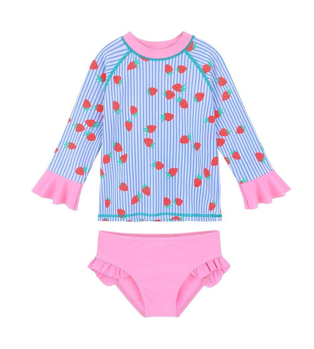 TFJH Little Ruffle Swimsuits Protection