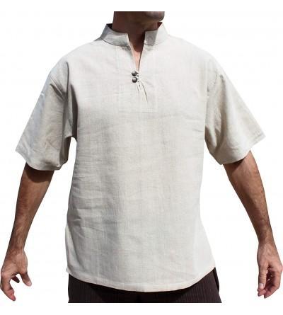 RaanPahMuang Chinese Button Collar Sleeve