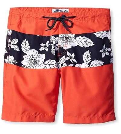 Trunks Mens 7 Colorblock Short