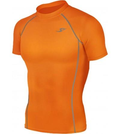 Orange Tights Compression Layer Sleeve