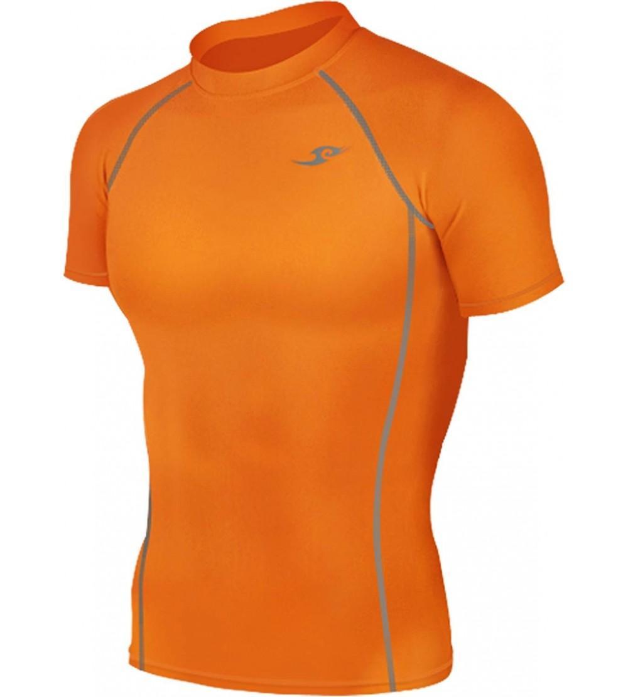 Orange Tights Compression Layer Sleeve