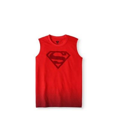 Superman Boys Sleeveless Muscle Shirt