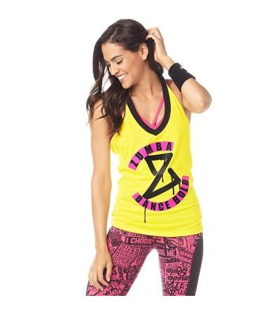 Zumba Womens Fashion Workout Halter