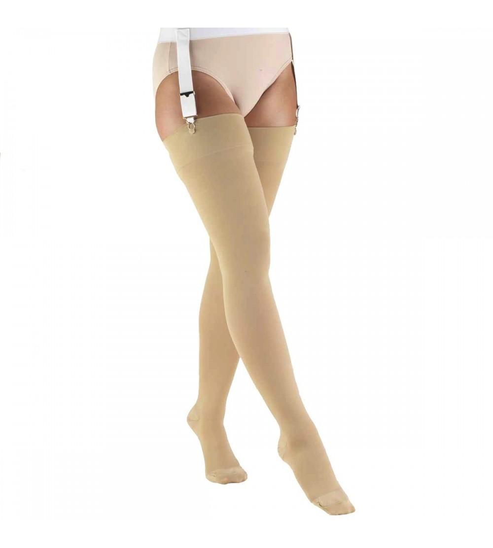 Truform Compression Stockings Thigh Closed