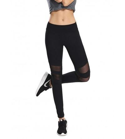 G Fengshang Patchwork Stretchy Workout Leggings