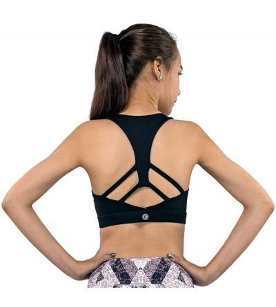 Racerback Yoga Sports WireFree Removable