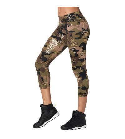 Zumba Waistband Fitness Compression Leggings