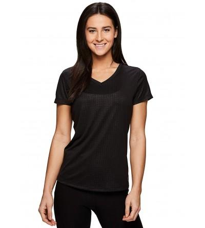 RBX Active Womens Sleeve V Neck
