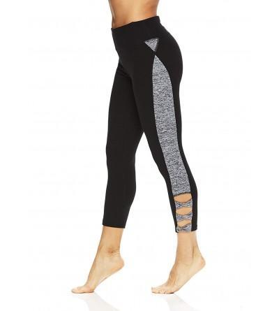 Gaiam Womens Capri Yoga Pants