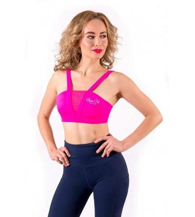 ChicFit Pink Rush Sports Bra