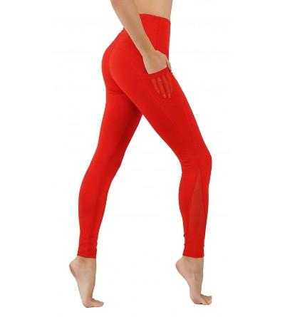 CodeFit Dry Fit Mesh Paneled Exposed Leggings