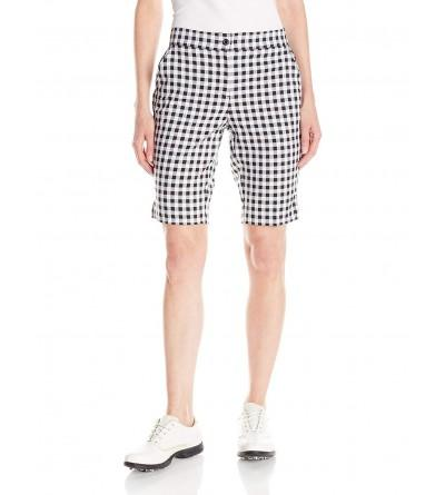 Greg Norman Collection Womens Gingham