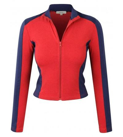 makeitmint Womens Breathable Jacket YJZ0080 RED LRG