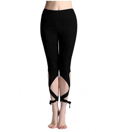 Sosite Bow Knot Stretch Fitness Leggings