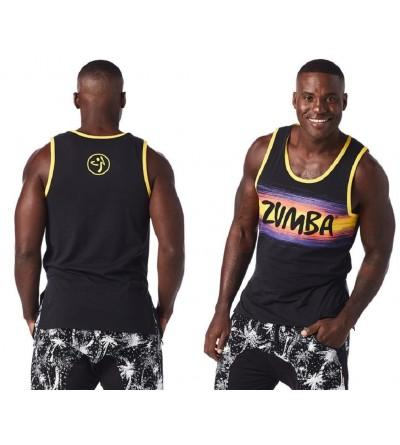 Zumba Mens Dancing Black Medium