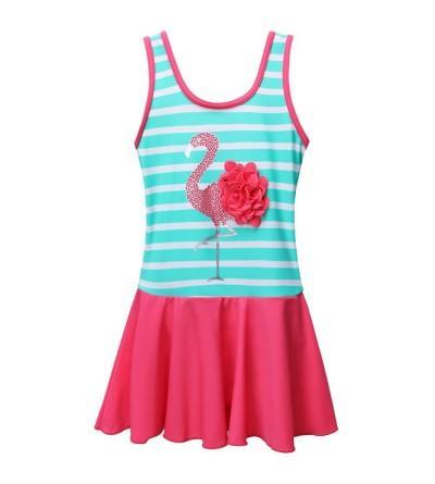 BAOHULU Toddler Swimsuit Floral Swimwear