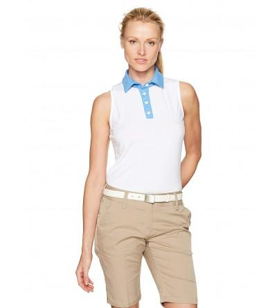 REDVANLY Womens Linden Polo Tee