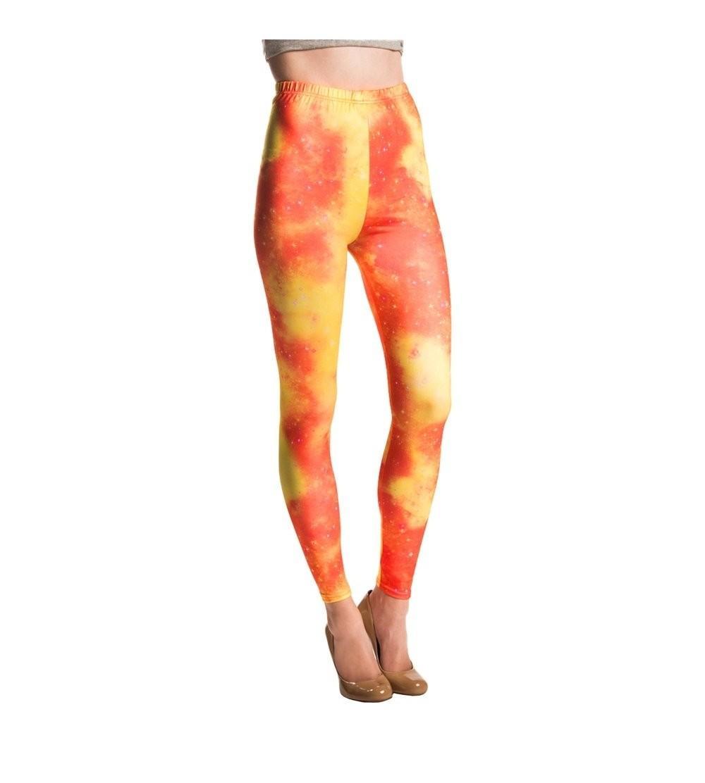 Aerusi Womens Fashion Stretchy Leggings