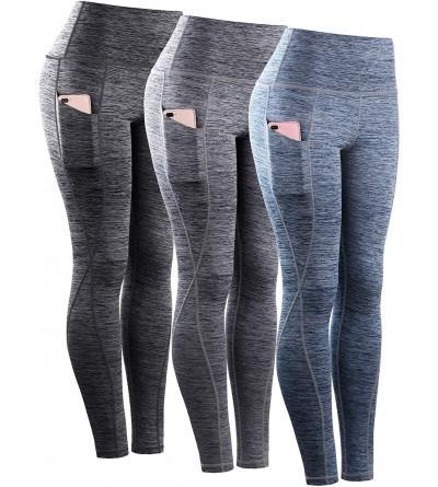 Neleus Womens Control Leggings Pockets