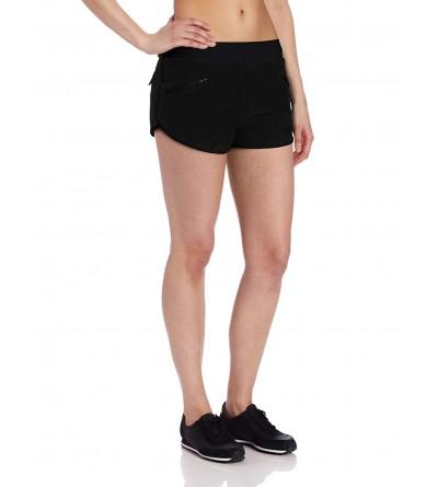 Zobha Womens Woven Running Shorts