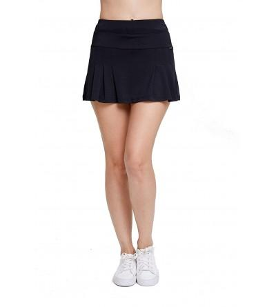 EZ Joyce Womens Pleated Athletic Pockets
