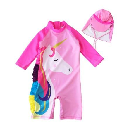 Toddler Swimsuit Suit One Swimwear Sunsuits