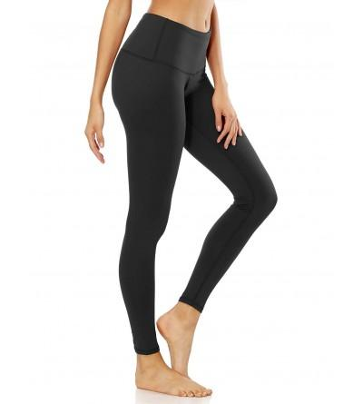 Exrebon Womens Workout See Through Leggings