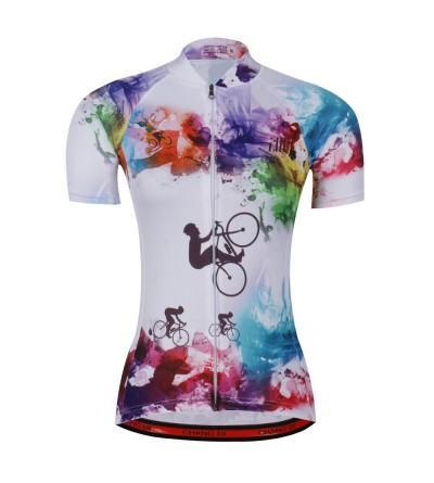 Womens Cycling Beautiful Bicycle Clothing