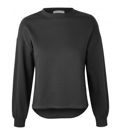 makeitmint Womens Oversized Sweatshirt YIL0020 CHARCOAL LRG