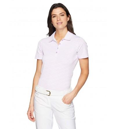 Greg Norman Womens Microlux Stripe
