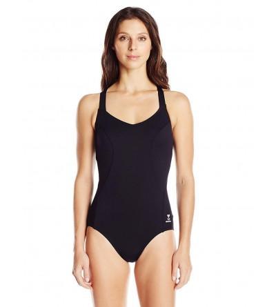 TYR Womens Halter Controlfit Swimsuit