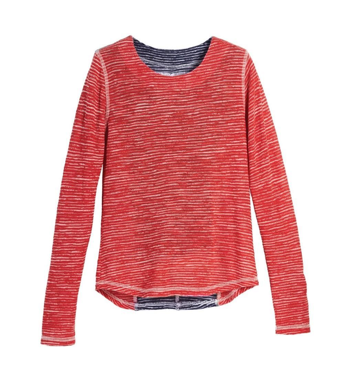 Beachcombers Girls Polyester Stripe Sleeve