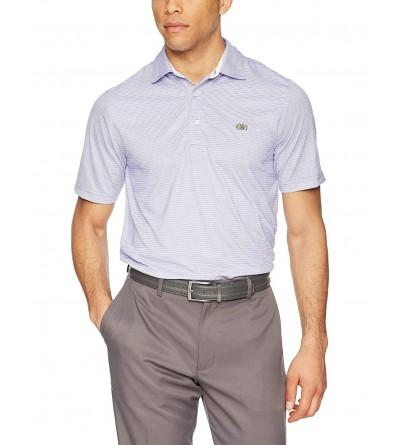Tourney Mens Fine Stripe Polo