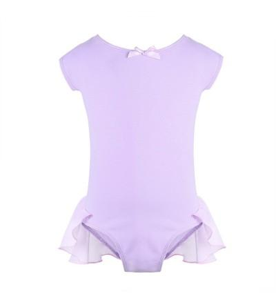 TiaoBug Sleeves Gymnastics Leotard Bodysuit