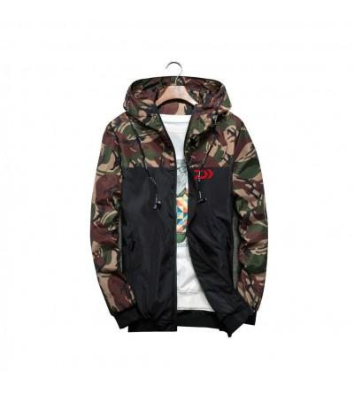 GX GLOBAL Camouflage Military Windbreaker
