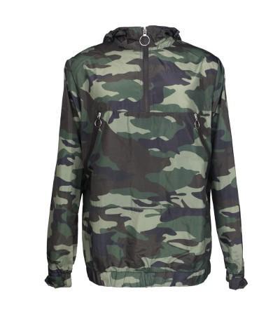 Leehanton Lightweight Waterproof Sweatshirt Windbreaker
