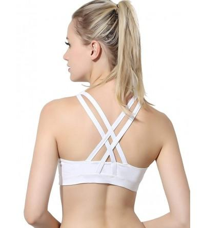 YOOY Womens Padded Sports Strappy