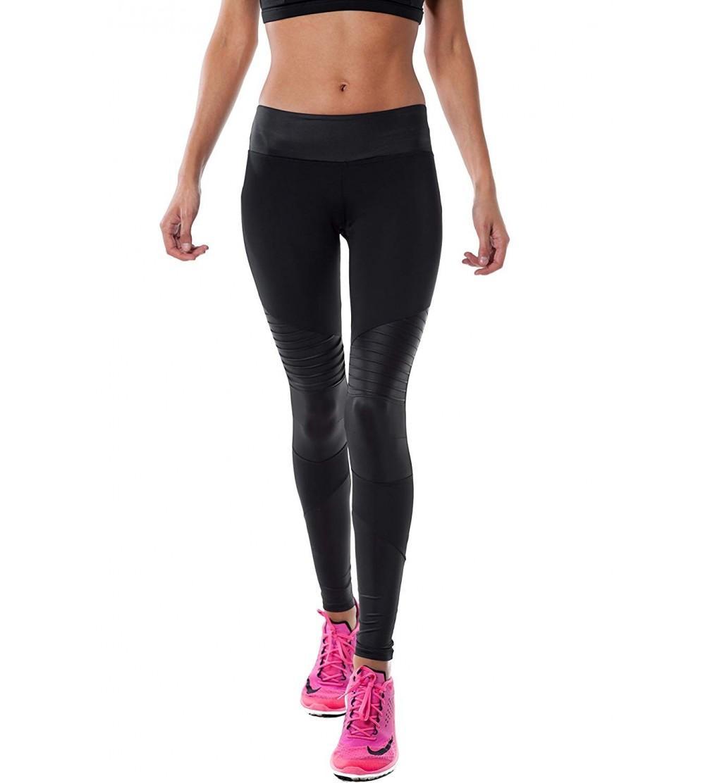 shopatniche Black Vector Leggings SOLOW