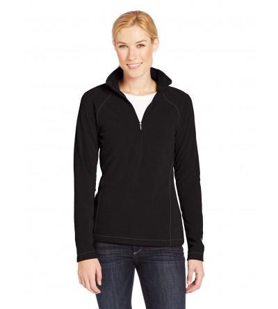 White Sierra Womens Quarter Zip Pullover