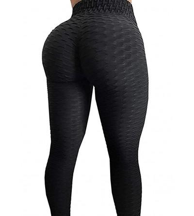 AGROSTE Control Stretchy Leggings Textured