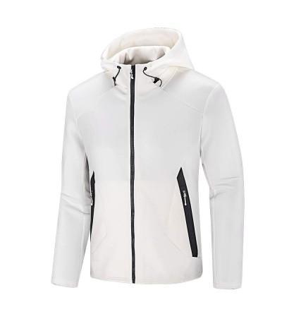 NIUDI Athletic Windbreaker Structure Sweatshirt