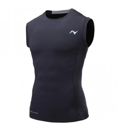 Nooz Mens Sleeveless Compression Shirt