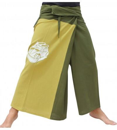 RaanPahMuang Retro Print Samurai Cotton